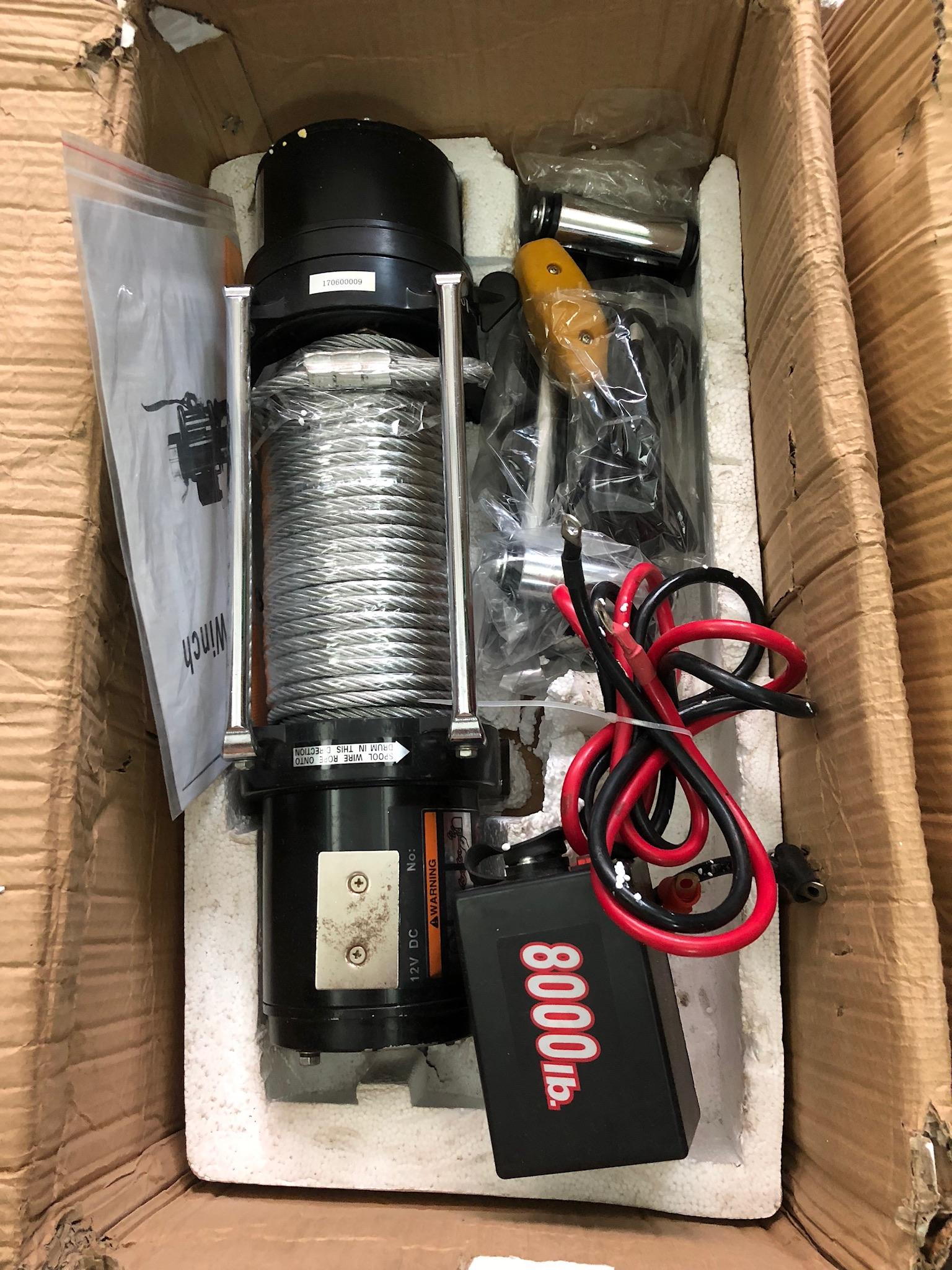 Tời điện 12V-8000IB