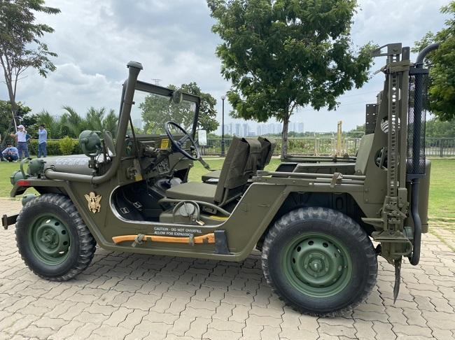 Tân Trang Xe Jeep I