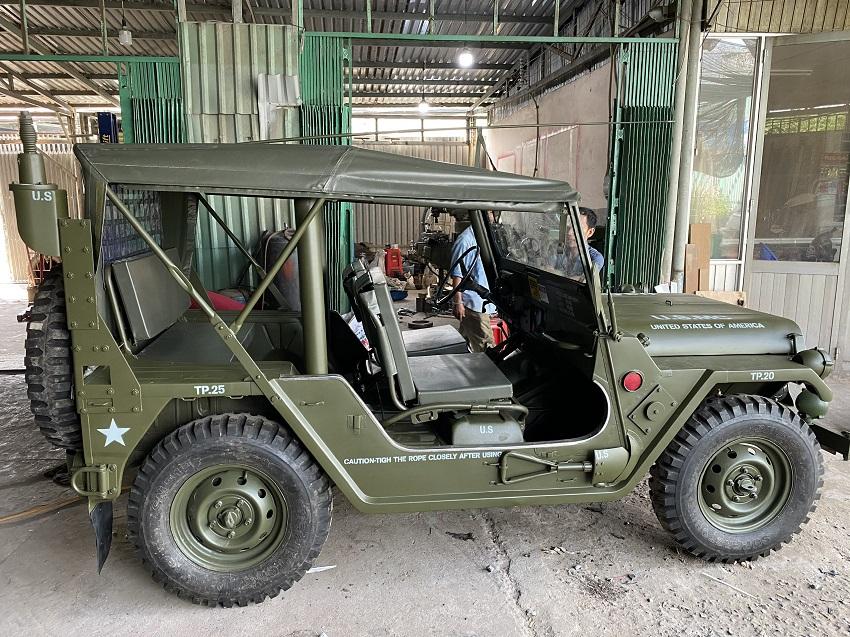 Tân Trang Xe Jeep II