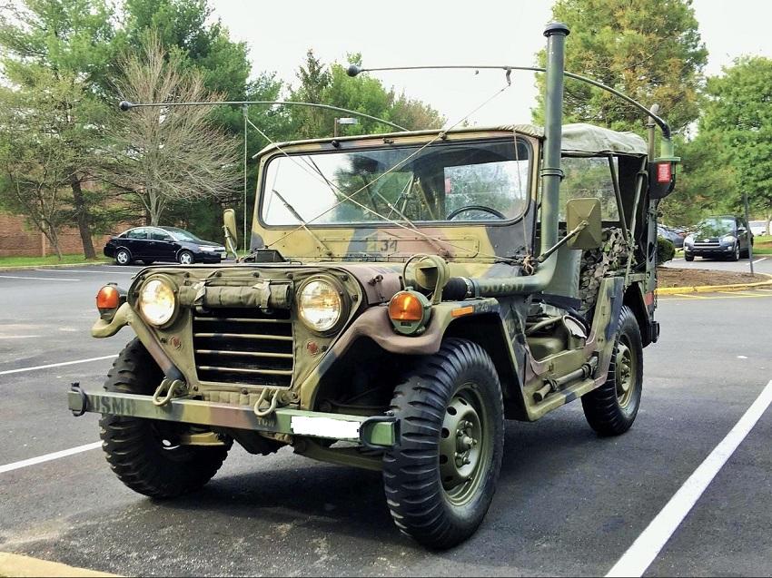 Tân Trang Xe Jeep III
